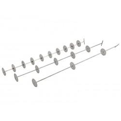 Шампур на 5 тарелок для Стеклянной ситчатой колонны «Источник»