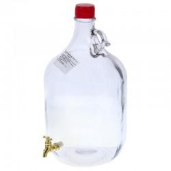 Бутыль «Сулия», 5 л, с краном