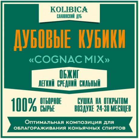 Кубики дубовые «Cognac Mix» на 10 - 40 л