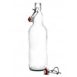 Бутылка пивная 0,5 л, прозрачная, бугельная пробка