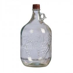 Бутыль винная стеклянная 5 л