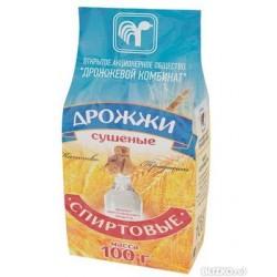 дрожжи спиртовые пресованные белорусия 100 грамм