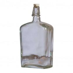 """Бутылка стеклянная """"Викинг"""" 1,75л с бугельной пробкой"""