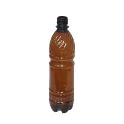 ПЭТ бутылка коричневая 1 литр