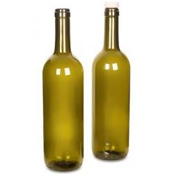 Бутылка винная под корковую пробку Бордо 0,75л