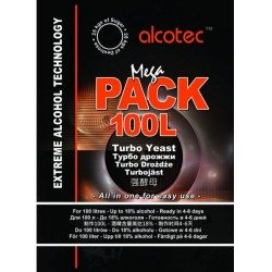Дрожжи Alcotec Megapack 100L