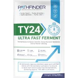 СПИРТОВЫЕ ДРОЖЖИ PATHFINDER 24 ULTRA FAST FERMENT, 205 Г