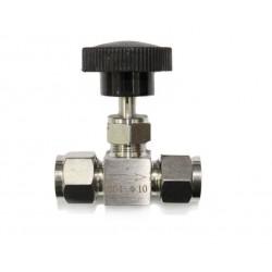 Клапан игольчатый под обжим, 10 мм.