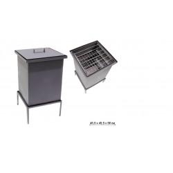 Коптильня стационарная GRIFON Premium, 45,4x45,4x56 см