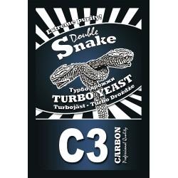 Турбо дрожжи Double Snake С3 Carbon 120 гр