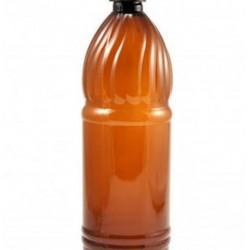 ПЭТ бутылка коричневая 0,5 литра с крышкой