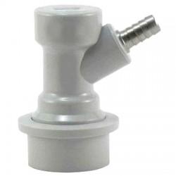 Коннектор KegLand Premium Ball Lock входящий (газовый) под шланг