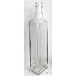 Бутылка Квадрат под гуалу 0.5л без колпачка