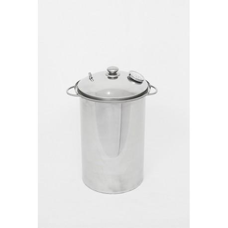 Коптильня с гидрозатвором АЛКОВАР вертикальная