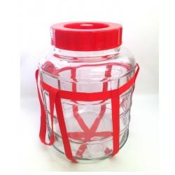 стеклянный бутыль с гидрозатвором